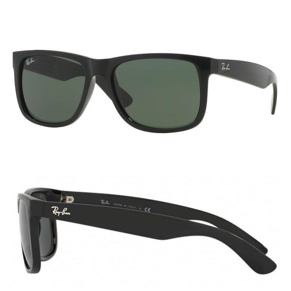 509191009dee5 Óculos De Sol Ray Ban Justin Rb 4165l 601 71 Tam 55 - R  350,50 em ...