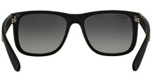 óculos de sol ray ban justin rb4165  polarizado original