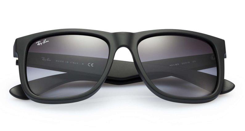 Óculos De Sol Ray Ban Justin Rb4165 Polarizado Original - R  220,00 ... 7faa2485b5