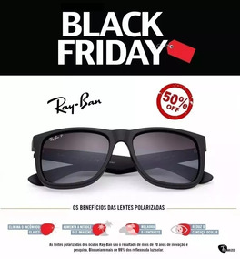 8f4511d05c Ray Ban Justin Rb 4165 Marrom Com Lentes Polarizadas De Sol - Óculos no  Mercado Livre Brasil