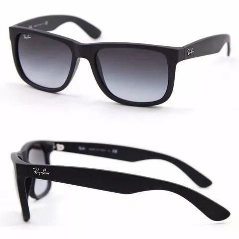 221d8dd1a Óculos De Sol Ray Ban Justin Rb4165 Preto Masculino Polariza - R$ 58 ...