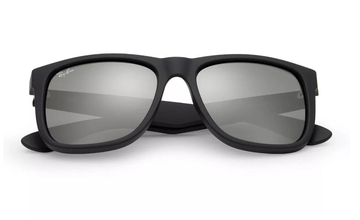 óculos de sol ray ban justin rb4165 preto masculino polariza. Carregando  zoom. 0c95ed9ce4