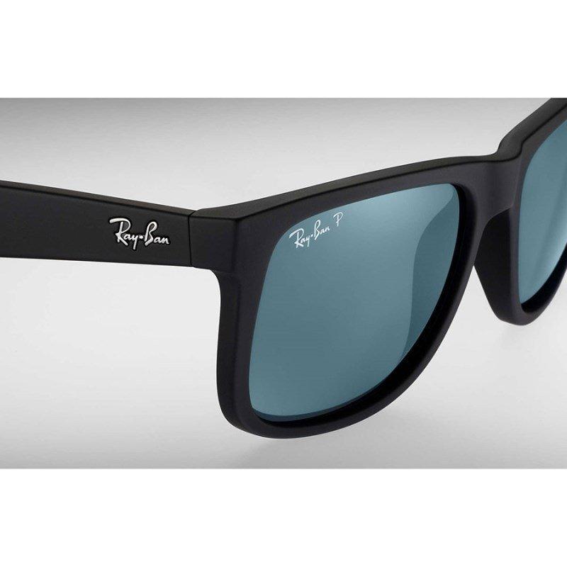 óculos de sol ray ban justin rb4165l 622 2v polarizado. Carregando zoom. dba75d63c6