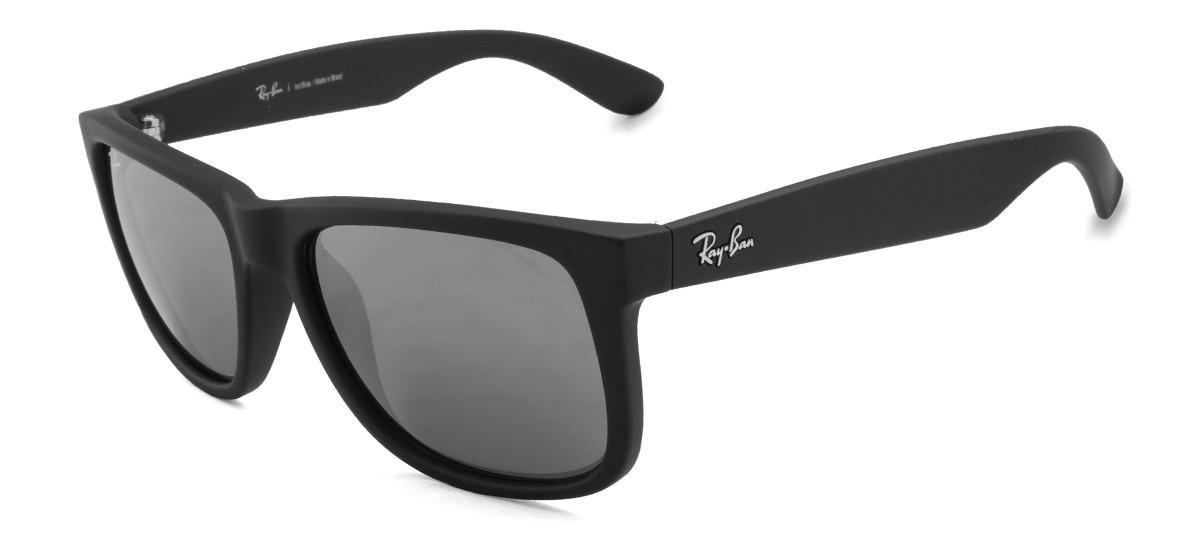 46a72c97524c9 Óculos De Sol Ray-ban Justin Rb4165l 622 6g Original - R  470,75 em ...