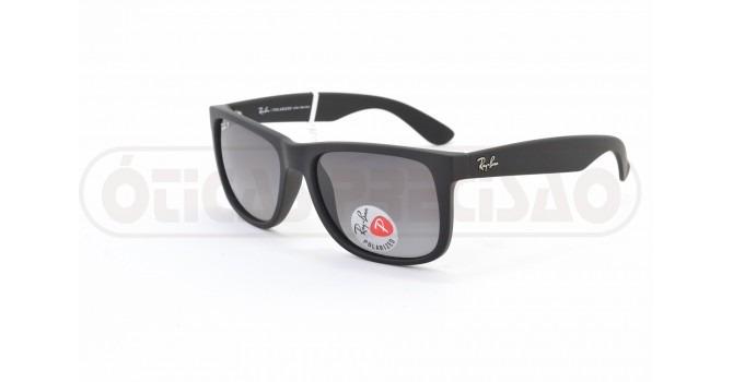 Óculos De Sol Ray Ban Justin Rb4165l 622 t3 Acetato - R  400,00 em ... 28c47bb3a4
