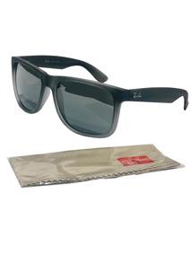 68c76577b Óculos De Sol Ray-ban Justin Rb4165l- Espelhado Cinza Fosco
