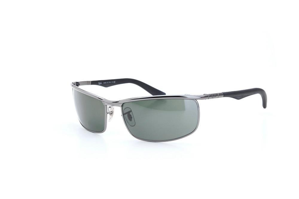 712ff97d1d777 óculos de sol ray ban lente policarbonato cinza metálico. Carregando zoom.