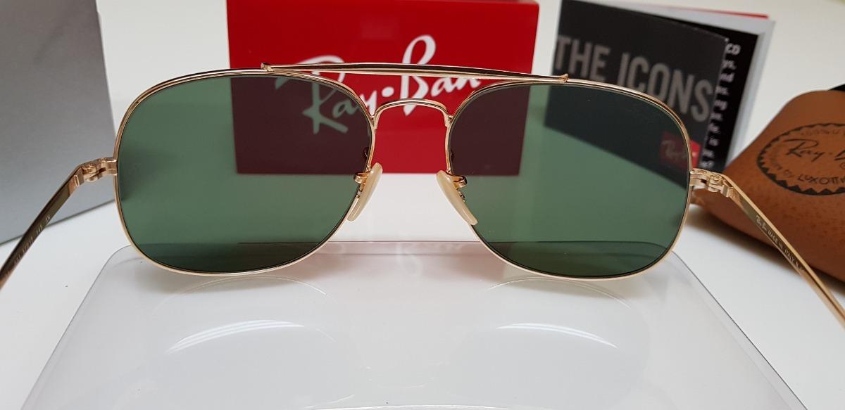 Óculos De Sol Ray-ban Marshal Rb3561 General G15 Verde Class - R .. 171c0ec896