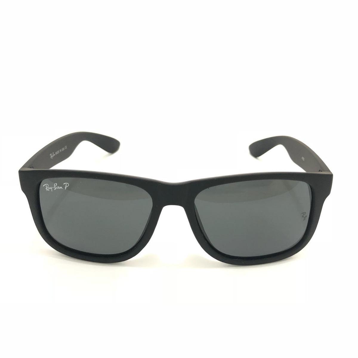 d12b28992 óculos de sol ray ban masculino justin polarizado. Carregando zoom.