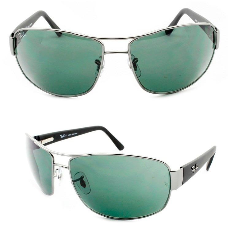 Óculos De Sol Ray-ban Masculino Rb 3503 029 71 Original - R  389,00 ... 1c0aa5a2c3