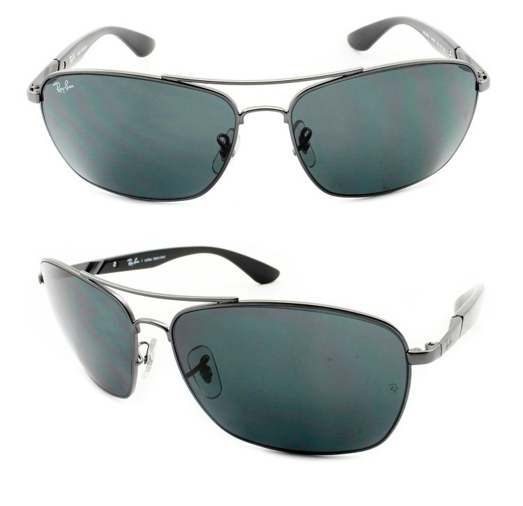 6b3ec56d0a2de Óculos De Sol Ray-ban Masculino Rb 3531 041 87 Original - R  395,00 ...
