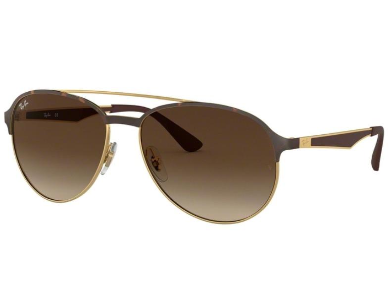 35f448013 Óculos De Sol Ray Ban Novo Aviador Rb3606 9127/13 Tam.59 - R$ 599,00 ...