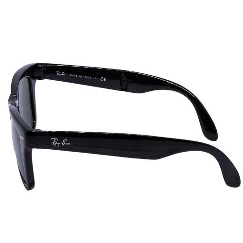 4d59403b8 Óculos De Sol Ray Ban Original Folding Wayfarer Black Rb4105 - R ...