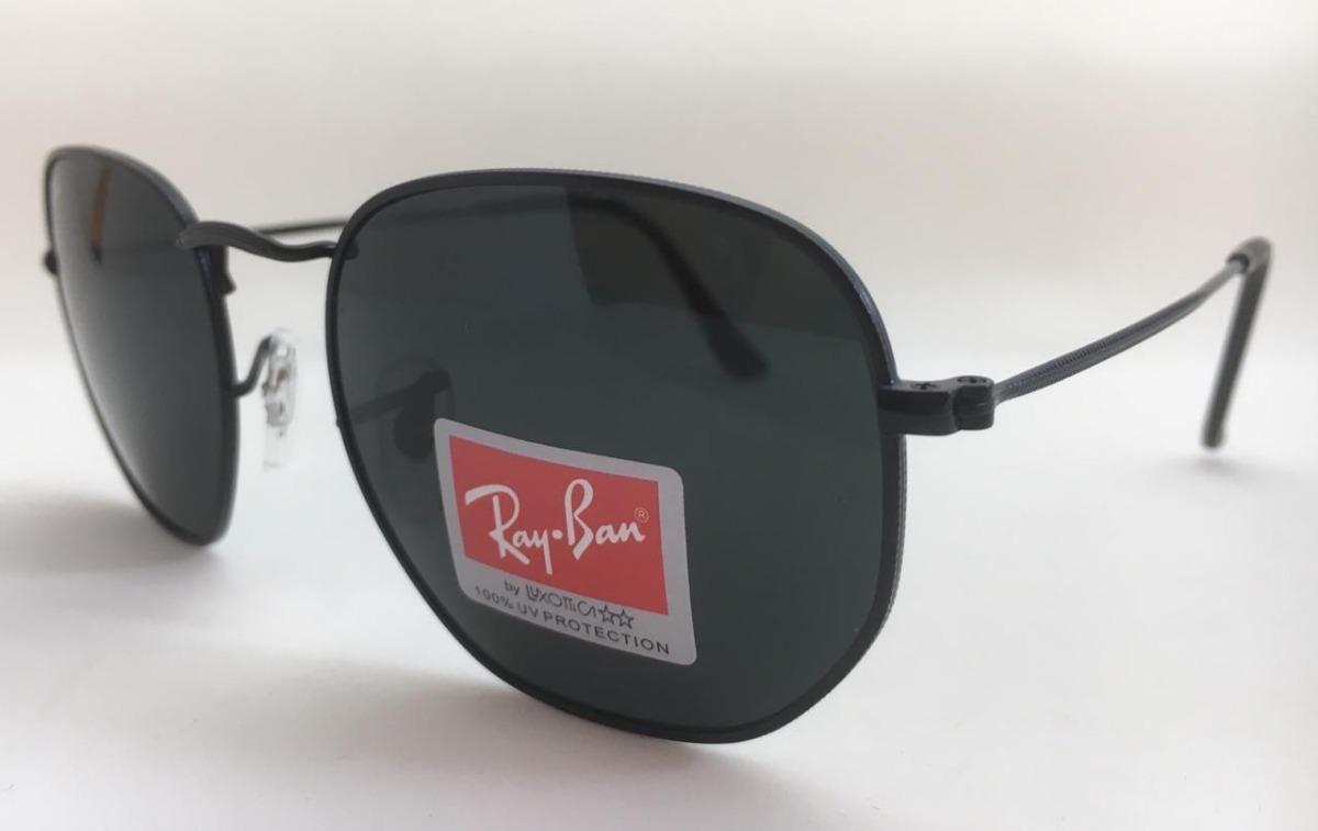 oculos de sol ray ban original rb3548 hexagonal frete gratis. Carregando  zoom. fe0d13c6bc