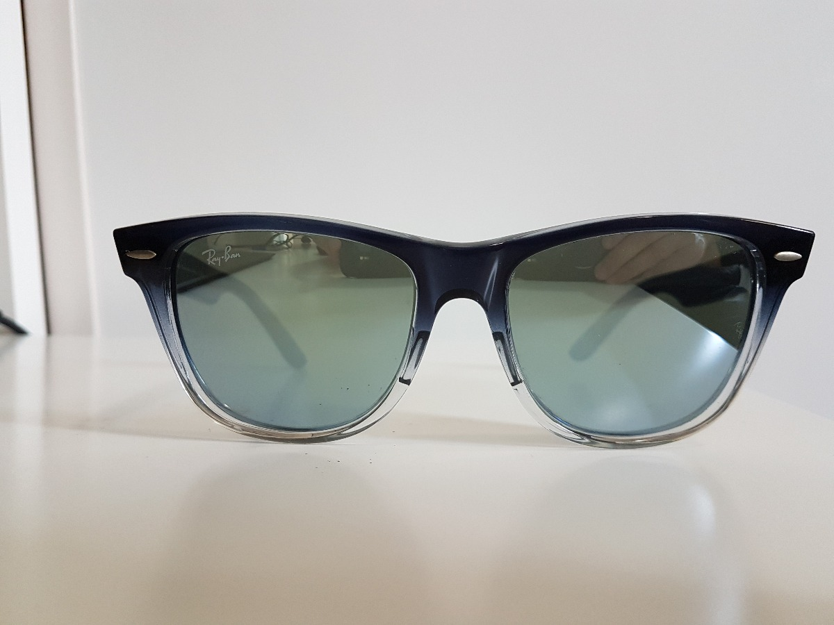 7b4383ed135a4 Óculos De Sol Ray Ban Original Wayfarer Remix - R  300,00 em Mercado ...