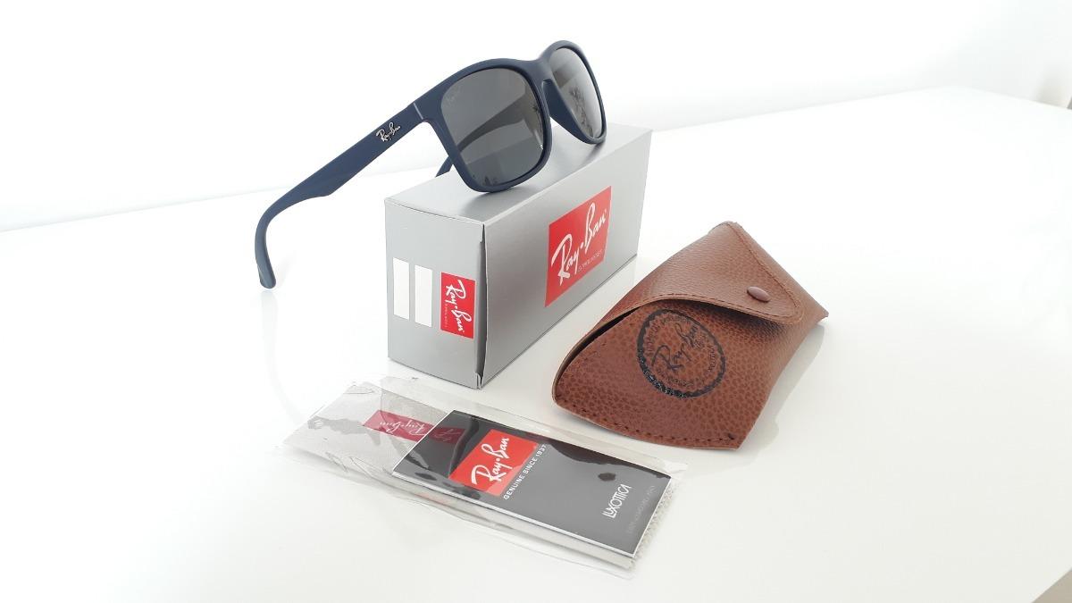 624f92312f229 Óculos De Sol Ray Ban - Polarizado Azul Óculos Feminino - R  319,90 ...