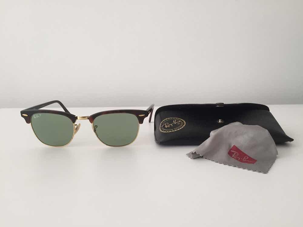 Óculos De Sol Ray Ban Polarizado Clube Master - R  350,00 em Mercado Livre 82c4ce2136