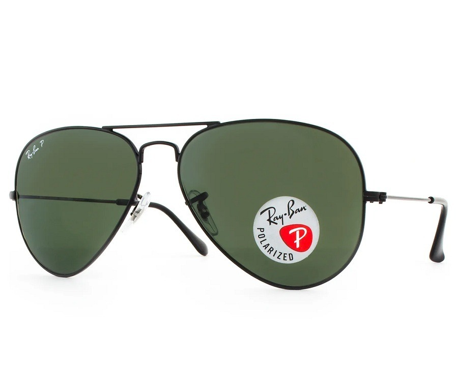 fa0a6f71cb97c Óculos De Sol Ray-ban Polarizado Grande Rb 3025l 002 58 62 - R  498 ...