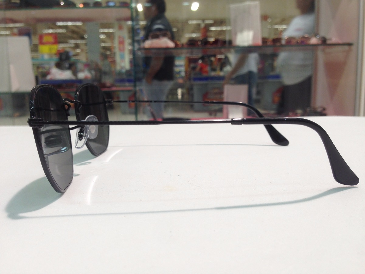 3ac9bac80eb3e óculos de sol ray ban polarizado hexagonal rb 3548-n 002 58. Carregando  zoom.