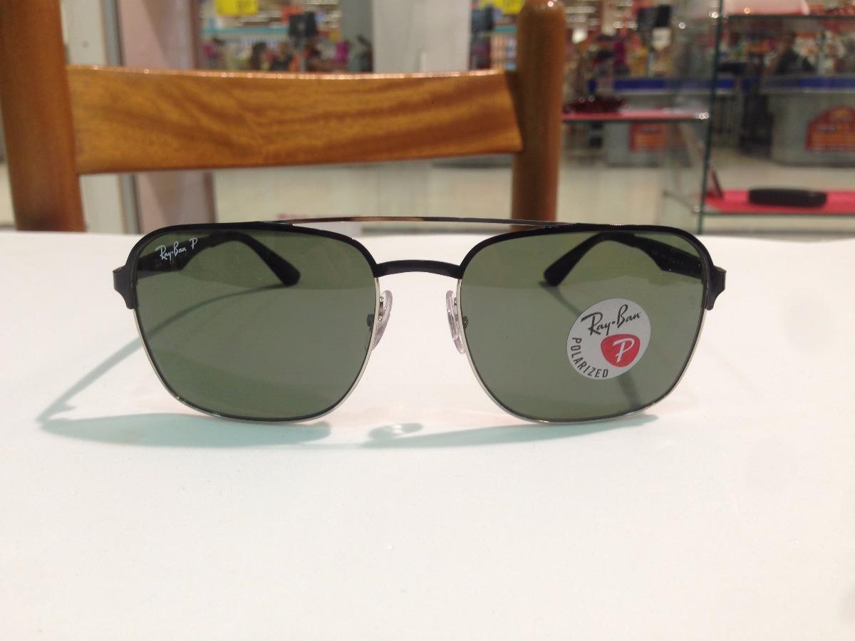 f3f308f703fb1 óculos de sol ray ban polarizado rb 3570 9004 9a tam.  58. Carregando zoom.