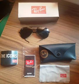 babaf83e7 Maravilhoso Ray Ban Rb3030 Cacador - Óculos no Mercado Livre Brasil