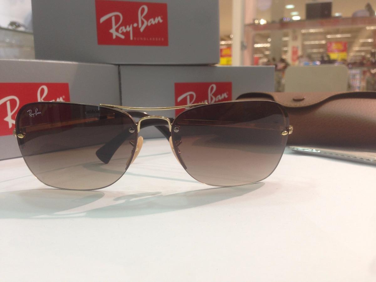 d19437b0a43 Óculos De Sol Ray Ban Rb 3541 001 13 Tam.  61 - R  482