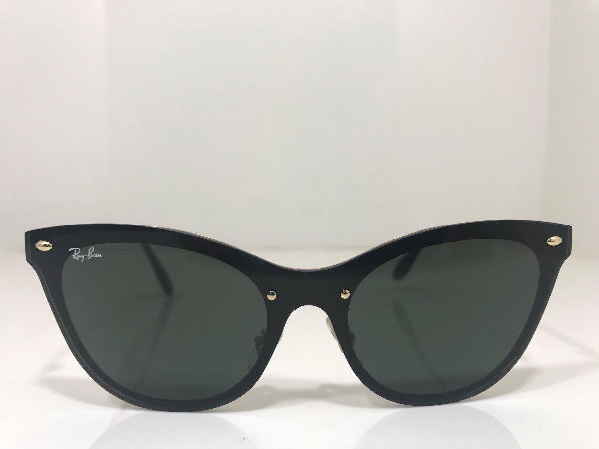 f5681d8feee04 Oculos De Sol Ray Ban Rb 3580 N Cat Eye Blaze Lançamento - R  315