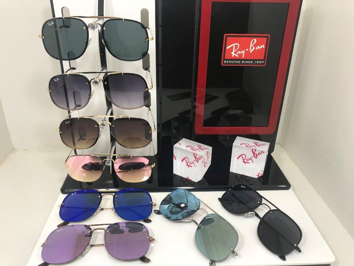 89cfe100b55c0 oculos de sol ray ban rb 3583-n blaze lançamento original. Carregando zoom.