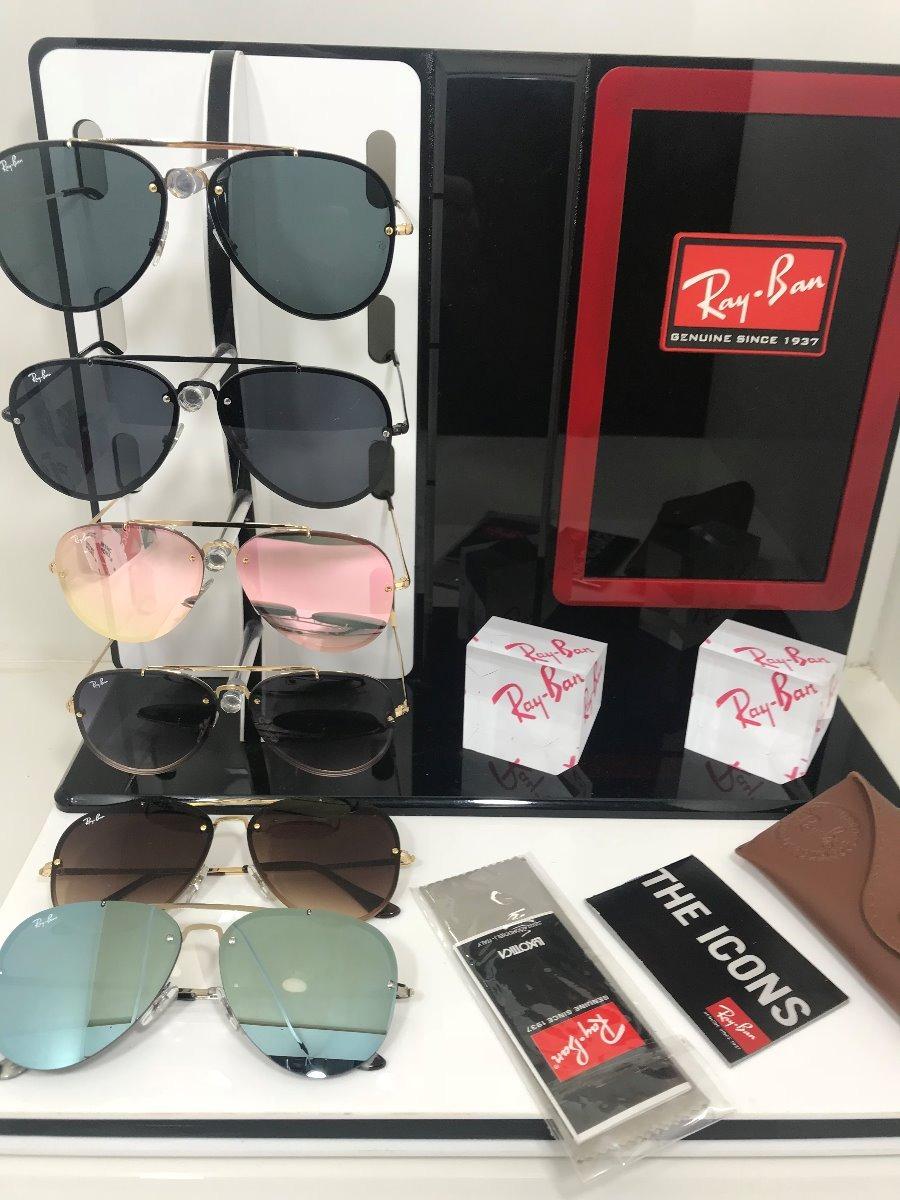 40874bbda7ccd oculos de sol ray ban rb 3584-n lançamento original blaze. Carregando zoom.