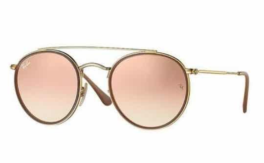 Óculos De Sol Ray-ban Rb 3647n Rose Espelhado 65%off - R  450,00 em ... fd8e7d4df2