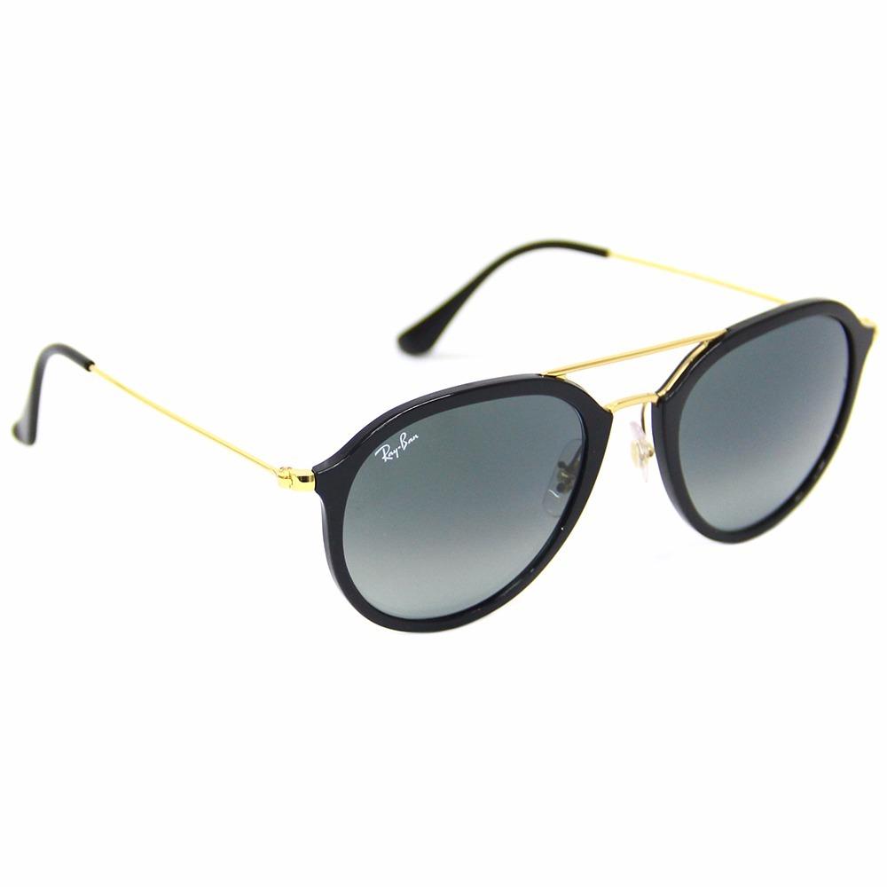 8ba4c5b412247 Óculos De Sol Ray Ban Rb 4253 Preto - R  529,00 em Mercado Livre