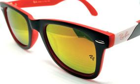 c7cce6c05 Óculos De Sol Ray Ban Rb2157 Ultra Wayfarer Espelhado Color