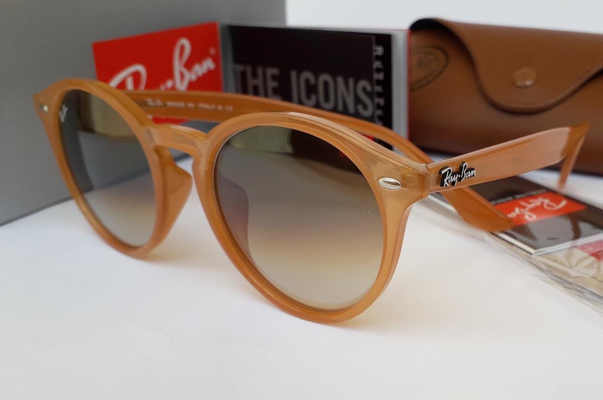 ebb9bbc7962de oculos de sol ray ban rb2180 round unissex oferta promocao. Carregando zoom.