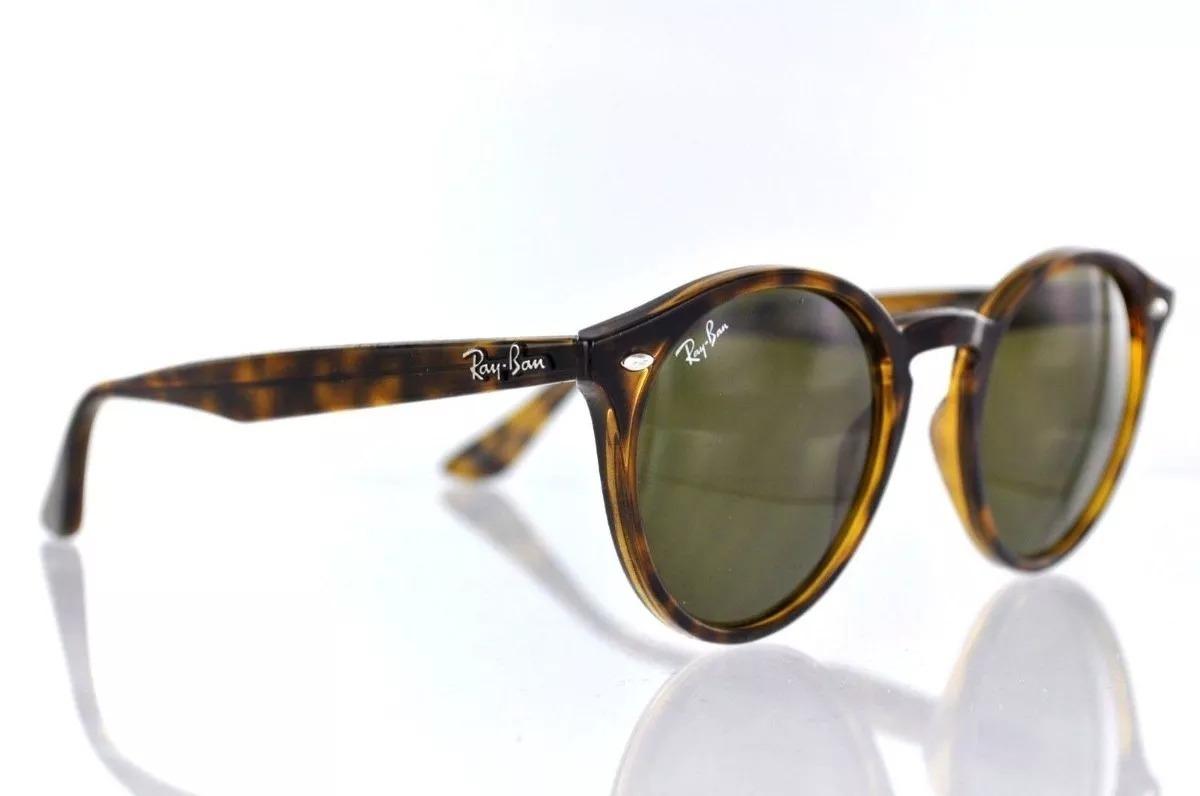 e6f250d4e3d70 Óculos De Sol Ray Ban Rb2180 - Tartaruga Com Lentes G15 - R  288