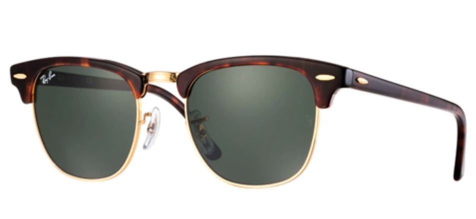 cb0eb5ae54f7d oculos de sol ray ban rb3016 clubmaster tartaruga g15. Carregando zoom.