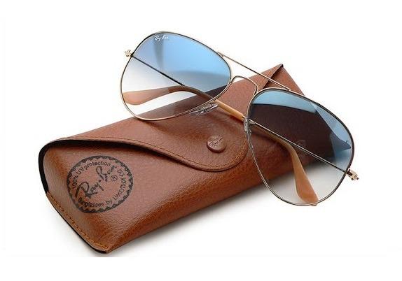 Óculos De Sol Ray Ban Rb3025 Aviador 5 Cores P 55 M 58 - R  319,00 ... 437a35d8ac