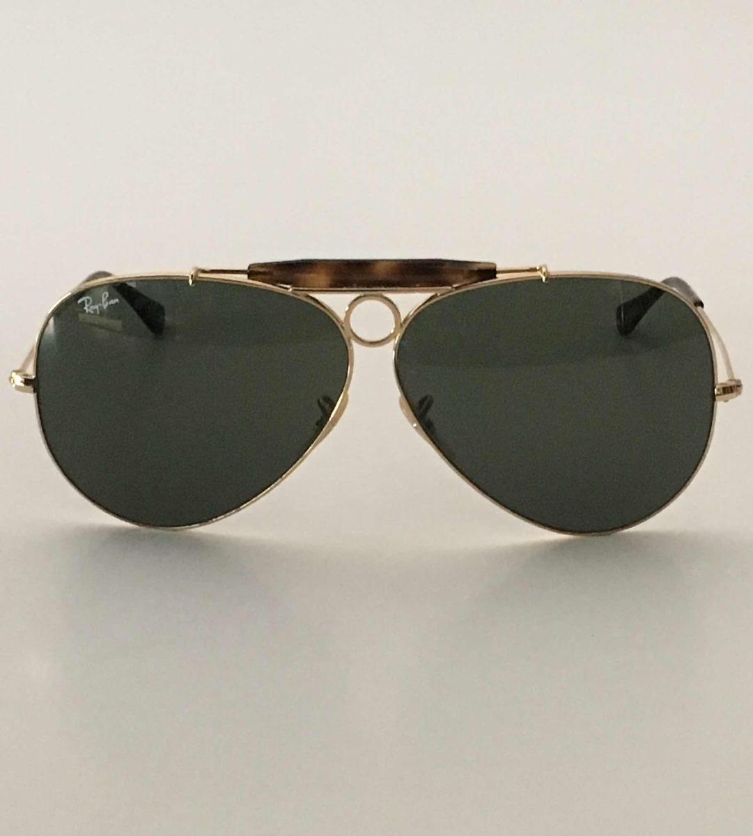 88f1fcd624a77 Óculos De Sol Ray Ban Rb3138 Shooter 181 62 09 3n - R  350,00 em ...