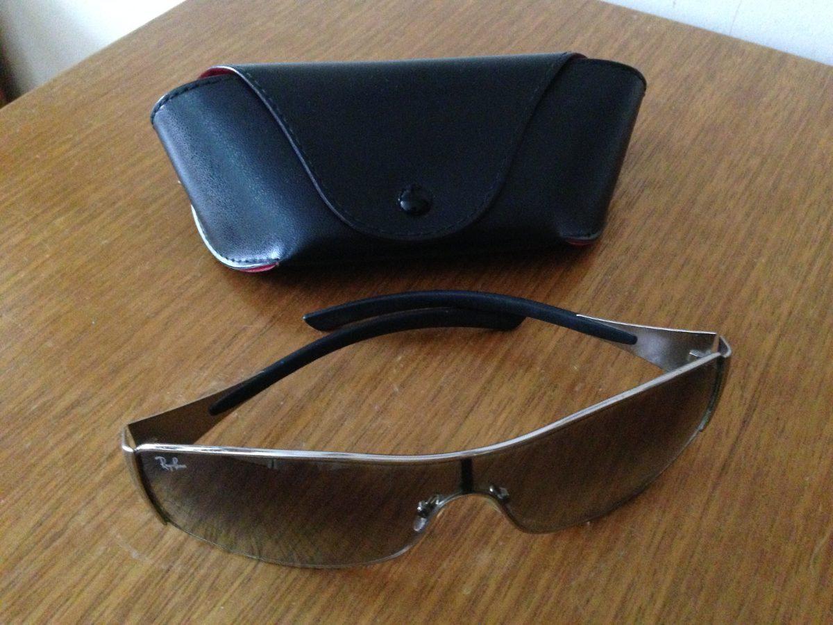 024102ccfe305 óculos de sol ray-ban rb3268 original antigo usado riscos. Carregando zoom.