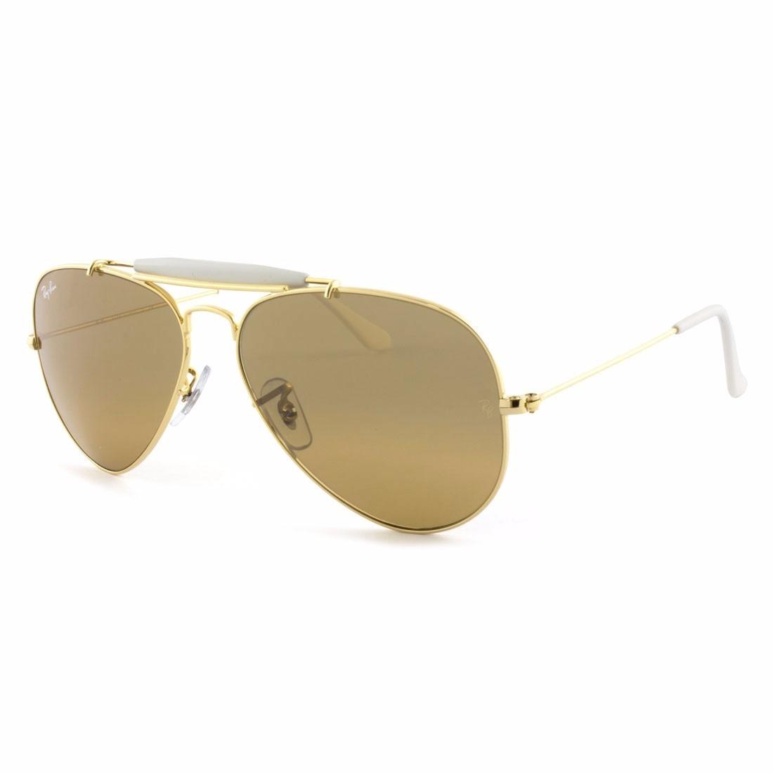 516f2e216 Óculos De Sol Ray Ban Rb3407 001/3k 58-14 2n - R$ 590,00 em Mercado ...