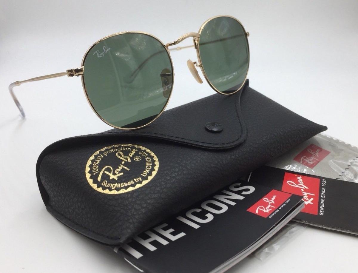 oculos de sol ray ban rb3447 round classic redondo promocao. Carregando  zoom. e22b728c8e16
