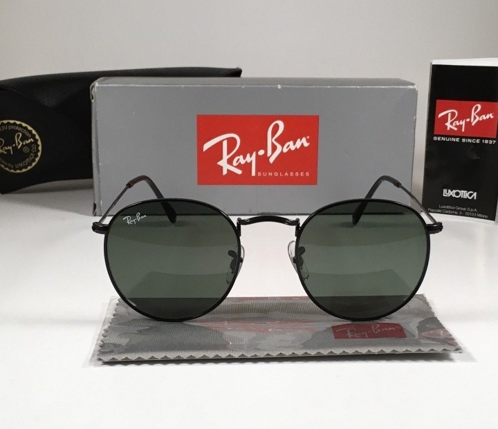 8332ede09b495 Oculos De Sol Ray Ban Rb3447 Round Classic Redondo Promocao - R  214 ...