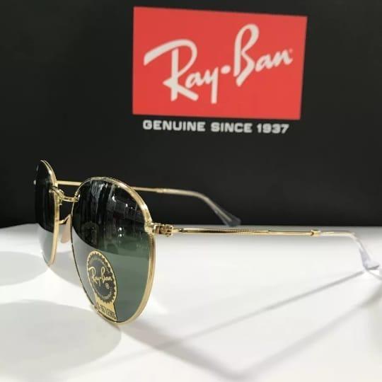 2539560e61d6a Oculos De Sol Ray Ban Rb3447 Round Grande 53mm - R  195,45 em Mercado Livre