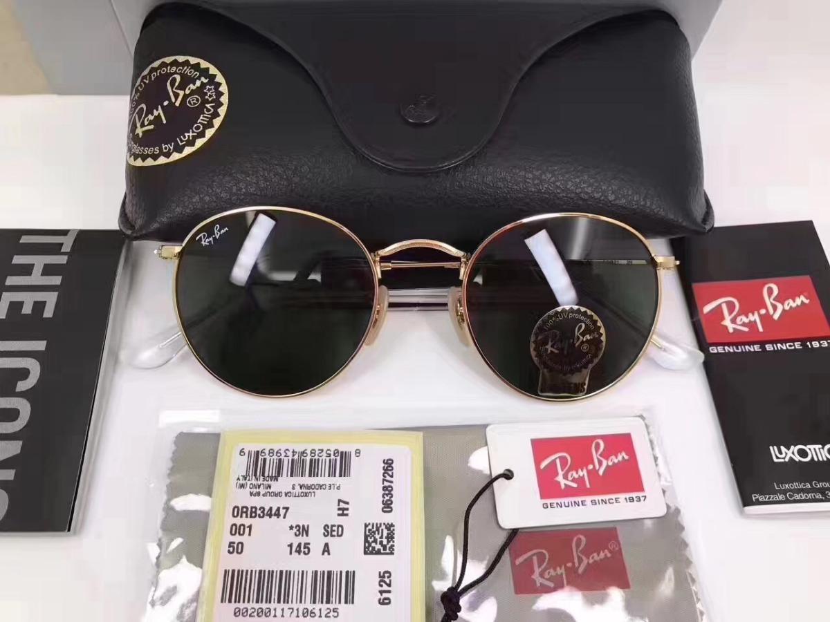 0f583a7b534c7 oculos de sol ray ban rb3447 round redondo masculino feminin. Carregando  zoom.