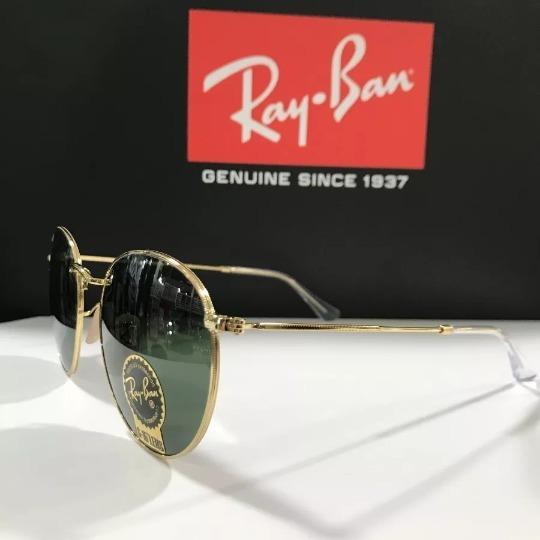 3c3dd92e32677 Óculos De Sol Ray Ban Rb3447 Round Redondo Tamanho G 53mm - R  178 ...