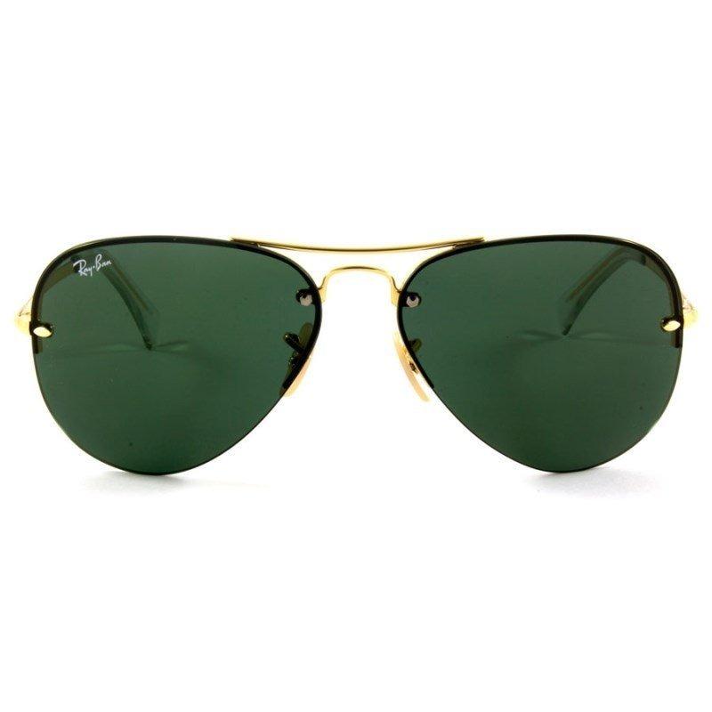 4c83f2318b0fb Óculos De Sol Ray Ban Rb3449 001 71 59 - R  499,00 em Mercado Livre