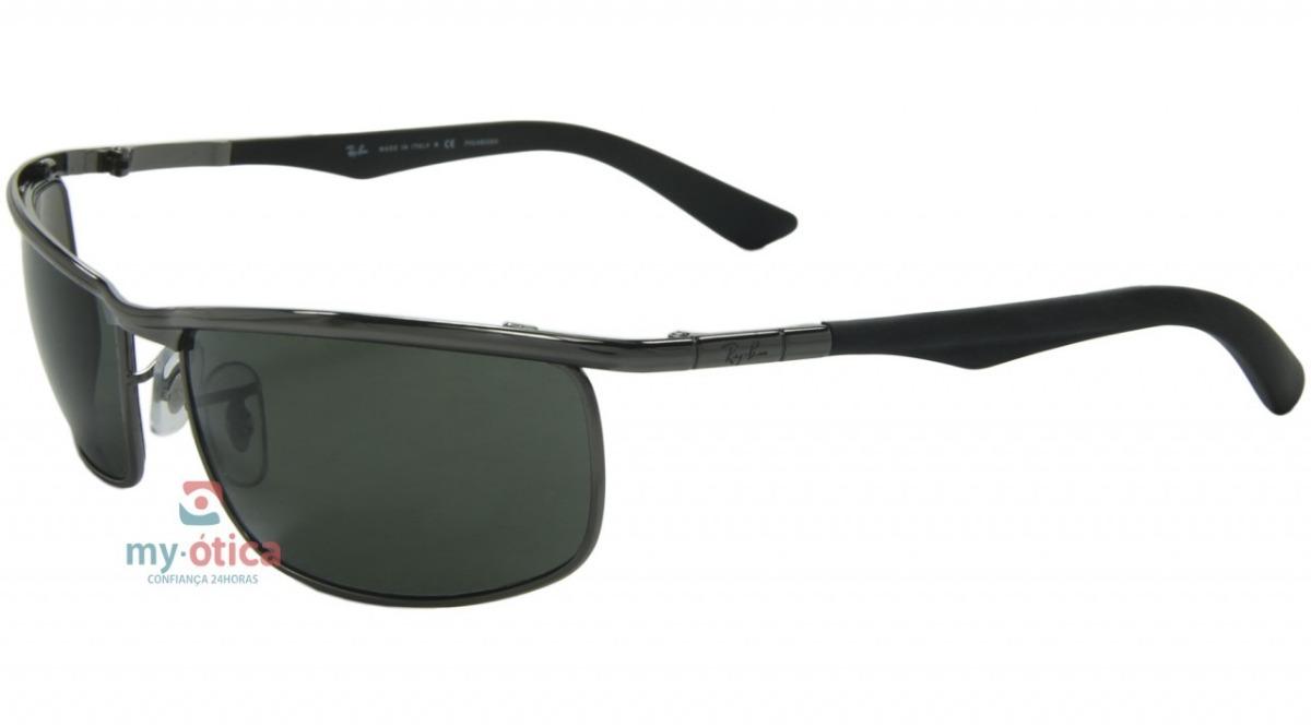 Vender um igual. óculos de sol ray ban rb3459 - prata e cinza original nfe.  Carregando zoom. da09600372
