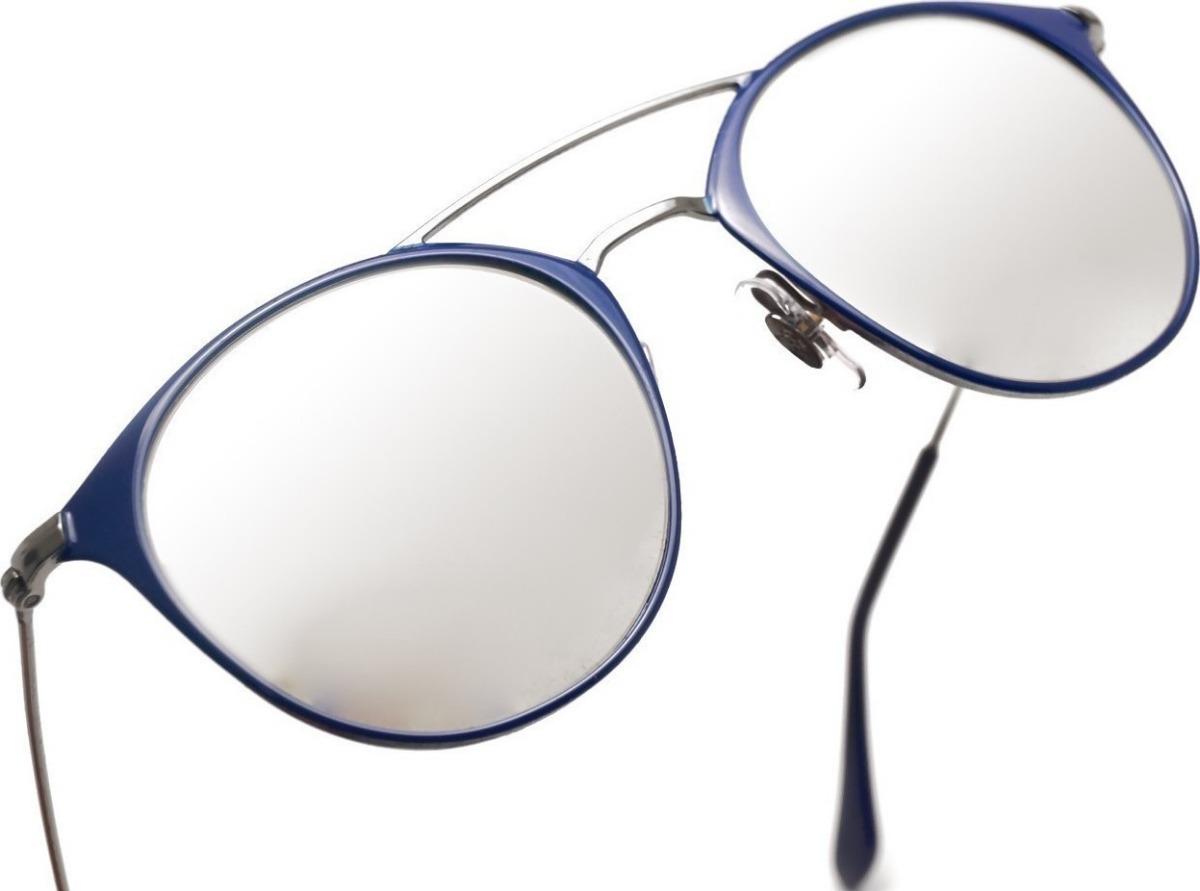 6f79b98607424 óculos de sol ray ban rb3546 round double bridge espelhado. Carregando zoom.