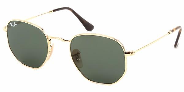 Óculos De Sol Ray-ban Rb3548n 001 54-21 Hexagonal - R  398,00 em ... eac479059c