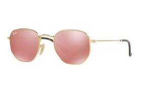 48d7968aa Oculo Redondo Espelhado Rosa De Sol - Óculos no Mercado Livre Brasil