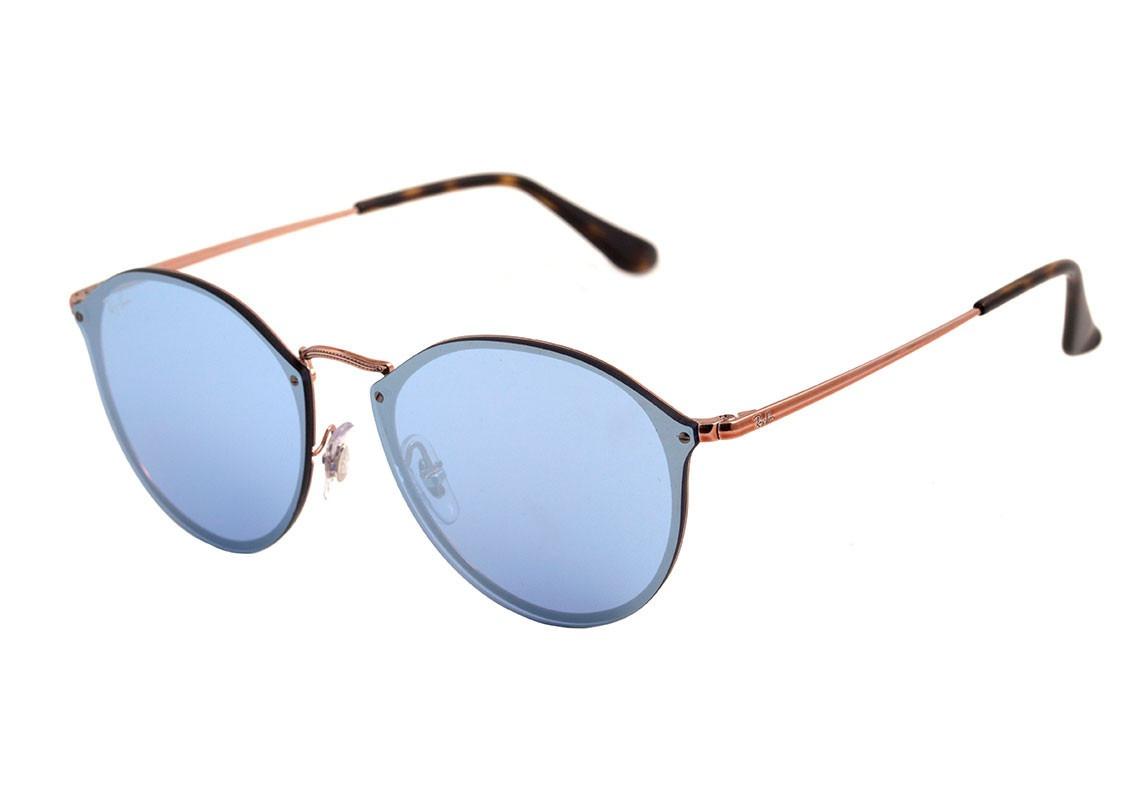 Óculos De Sol Ray Ban Rb3574 N9035 1u Blaze Round - Original - R ... f617d50611